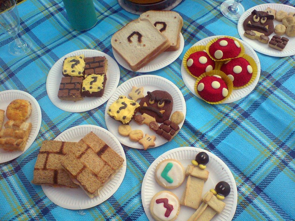 Mario Bros picnic