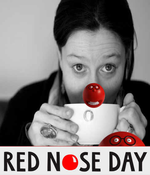 Red Nose Day support Darcie Tanner