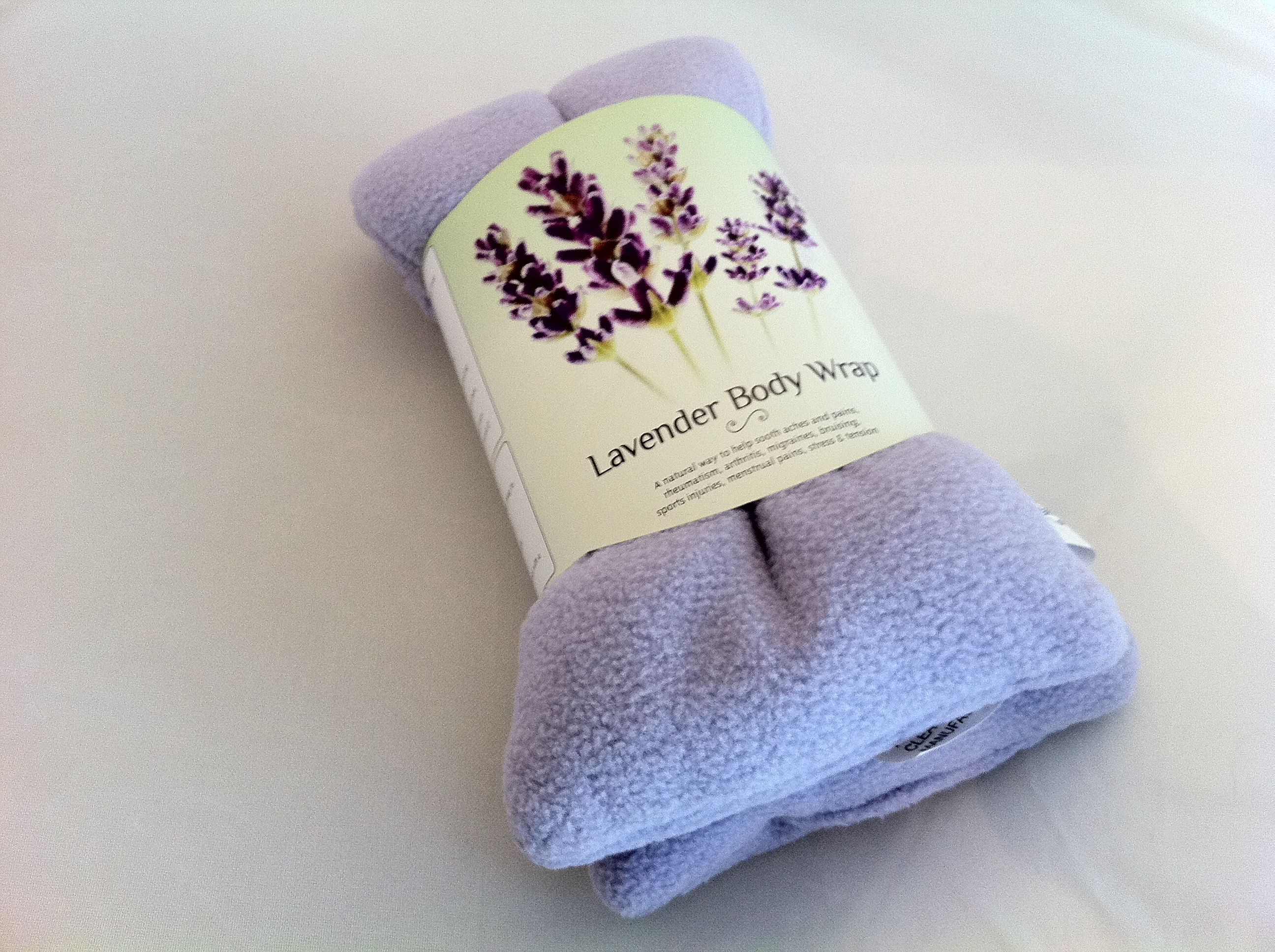 Product review: Zhu-Zhu Lavender Body Wrap