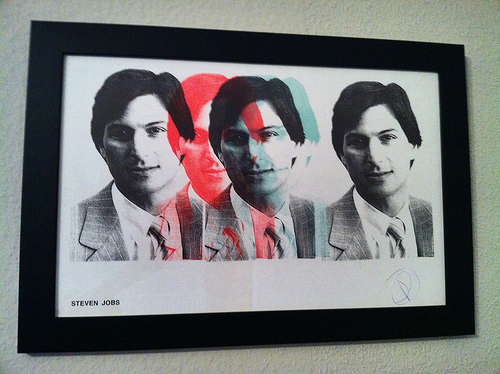 Steve Jobs Screenprinted & Signed by Douglas Coupland