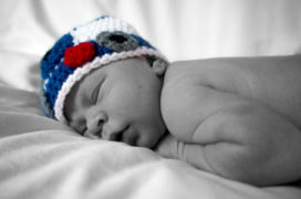Infant R2D2 Knitted Hat By Barnett